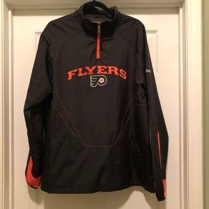 Reebok NHL Philadelphia Flyers Quarter Zip Jacket